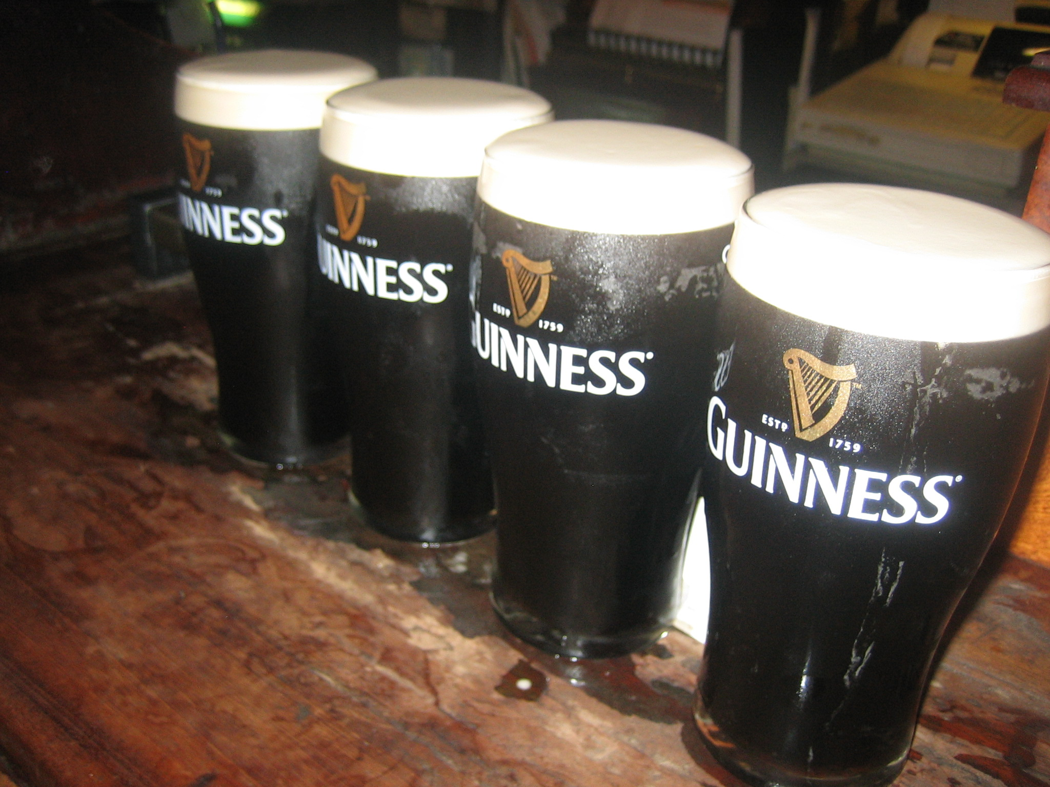 Drink A Guinness Beer In Ireland